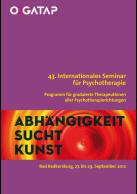 43. Internationales Seminar für Psychotherapie, Programm für graduierte Psychoth